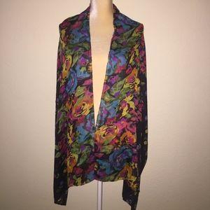 Beautiful colorful scarf